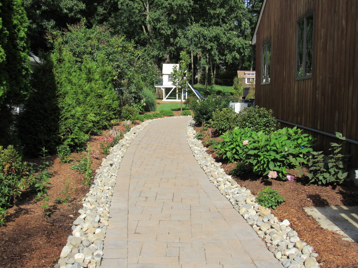 primo landscape walkway finished