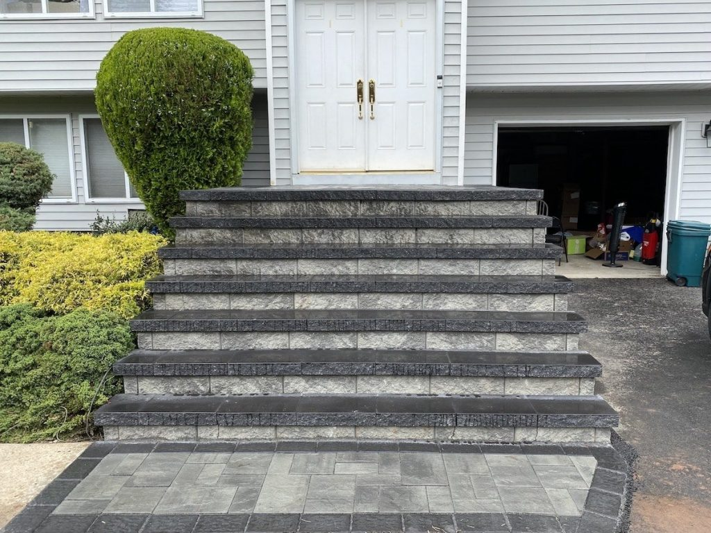 stone and paver stairs 2