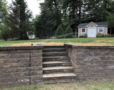Backyard Retaining Wall Repair