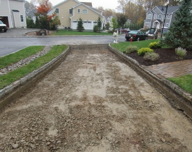 Montvale Driveway Preparation