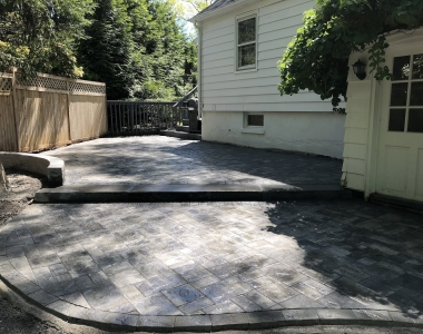 New City Front and Backyard Landscape Construction
