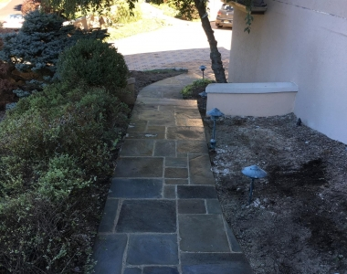 Bluestone Sidewalk – Norwood, NJ