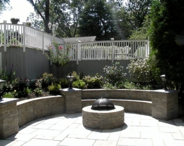 Outdoor Living Space after Pool Removal