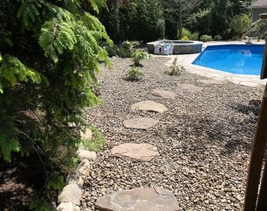Pool and Walkway Design